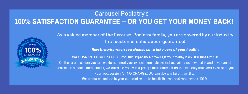 Carousel Money Back Guarantee